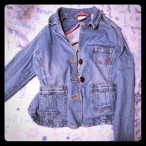 Girls Levi's jean jacket
